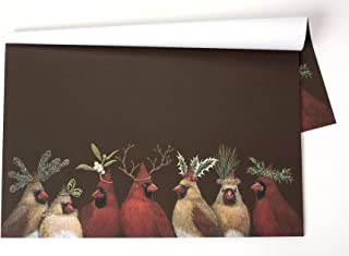 Kitchen Papers Cardinal Party Paper Placemats Set/30 American Made