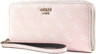 Guess Zip Around Wallet For Women  Cream - SG710346