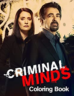 Criminal Minds Coloring Book: TV Series Spiroglyphics Coloring Books For Adults - New kind of stress relief coloring book ...