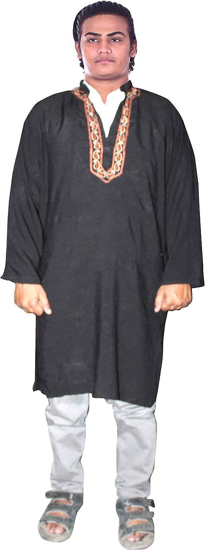 Lakkar Haveli Indian Men Kurta Wedding Ethnic Embroid Max 53% OFF Wear Shirt Fort Worth Mall