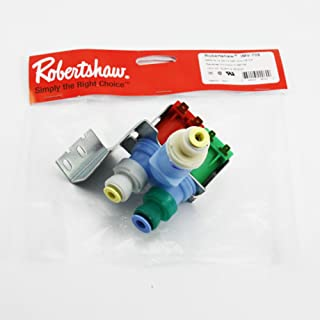 IMV708 W10408179 4389177 Whirlpool Kitchenaid Kenmore Refrigerator Water Valve by Robertshaw (Original Version)