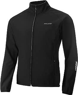 BALEAF Men's Softshell Cycling Jacket Water-Repellent Windbreaker Thermal Fleece Winter Jacket