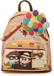 Loungefly Disney Pixar Up Working Buddies Damen Schultertasche mit Doppelriemen