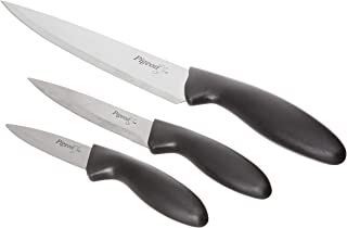 Pigeon by Stovekraft Stainless Steel Kitchen Knives Set, 3-Pieces, Multicolour
