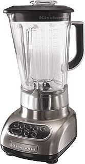 KitchenAid KSB580NK Custom Metallic 5-Speed Blender, Brushed Nickel
