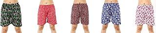 MUKHAKSH (Pack of 5 Girls/Ladies/Women's/Kids Cotton Hot Multicolors Shorts
