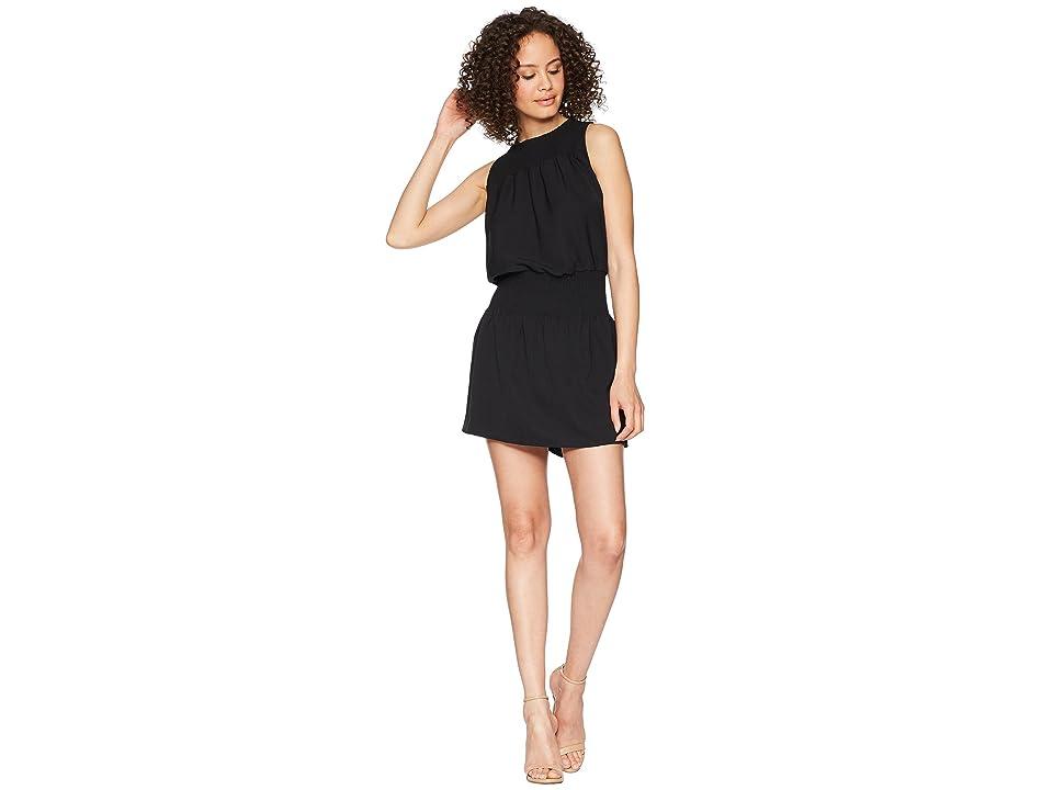 Bishop + Young Smocked Dress (Black) Women