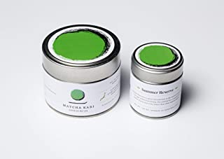 Matcha Kari - Matcha Green Tea Powder - Premium Summer Reserve (for Cold Brew Sipping) - 30g - Makes 30 Servings, Antioxidants, Energy - Authentic Japanese Origin