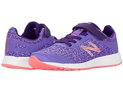 New Balance Kids 455v2 (Little Kid/Big Kid) (Mirage Violet/Guava) Girls Shoes
