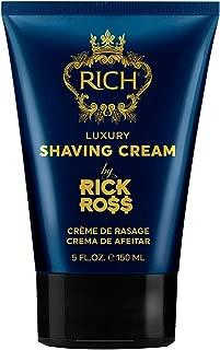 RICH by Rick Ross Luxury Shaving Cream with Hemp Seed Oil 5 FL OZ