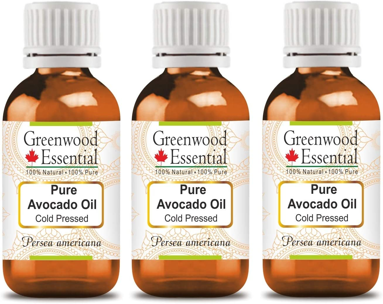 Greenwood Essential Pure Avocado Oil Max 84% OFF 100% Persea Nat americana Limited time cheap sale