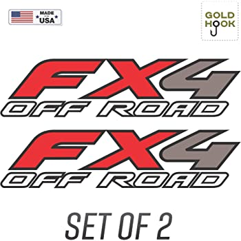 Set of 2 2005 Ford F150 FX4 Off Road Decals Truck Stickers F Bed Side