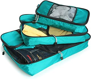 GOWETION Packing Cubes for Travel - 6 Set Luggage Organizer Bags for Packing (Green)