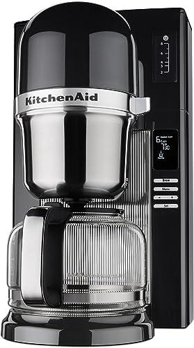 discount KitchenAid lowest RKCM0802OB (Renewed) Pour Over 2021 Coffee Brewer, Onyx Black sale