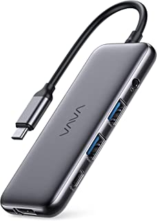 VAVA USB-C Hub, 8-in-1 USB-C Adapter, with 4K 60Hz HDMI, USB-C and USB-A 5Gbps Data Ports, 100W Power Delivery, SD/TF Card...