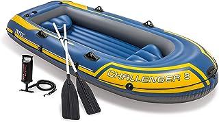 Intex 68370NP - Barca Hinchable Challenger 3 con Remos 295 x