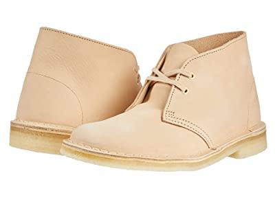 Clarks Desert Boot (Wheat Nubuck) Women