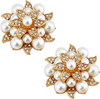 wedding shoe clips pearl