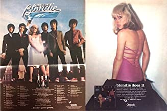 Have one to sell? Sell now Details about 2 BLONDIE trade magazine ads for 2 albums (1976 Blondie, 1978 Parallel Lines)