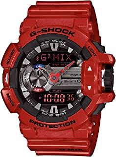 Casio G-Shock GBA400-4A Classic Series Stylish Watch - Red/Black /