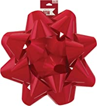 Berwick Offray Giant Red Christmas Bow, 11.75