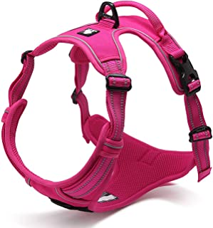 Solarphoenix Soft Dog Harness No Pull Vehicle Vest Basic Halter Harness Quick Release Stainless Steel Ring Bulldog Petshop