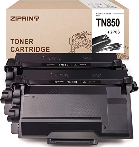 2021 ZIPRINT outlet sale Compatible Toner online Cartridge Replacement for Brother TN-850 TN850 TN820 for use with Brother HLL6200DW HLL6200DWT HLL6250DW DCPL5650DN MFCL5800DW DCPL5600DN (Black, 2-Pack) sale