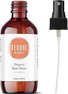 Teddie Organics Organic Rose Water Face Toner Alcohol Free 4oz
