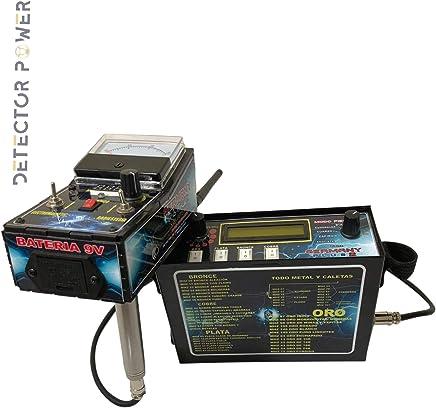 Germany Plus 2 Detector de Metales - Localizador Profesional - Long Range - Detector Escaner de