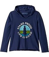 Stand Proud Pine Knit Tee (Little Kids/Big Kids)