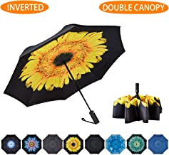 """/""""Sunflower/""""double sewing long size automatic umbrella"""