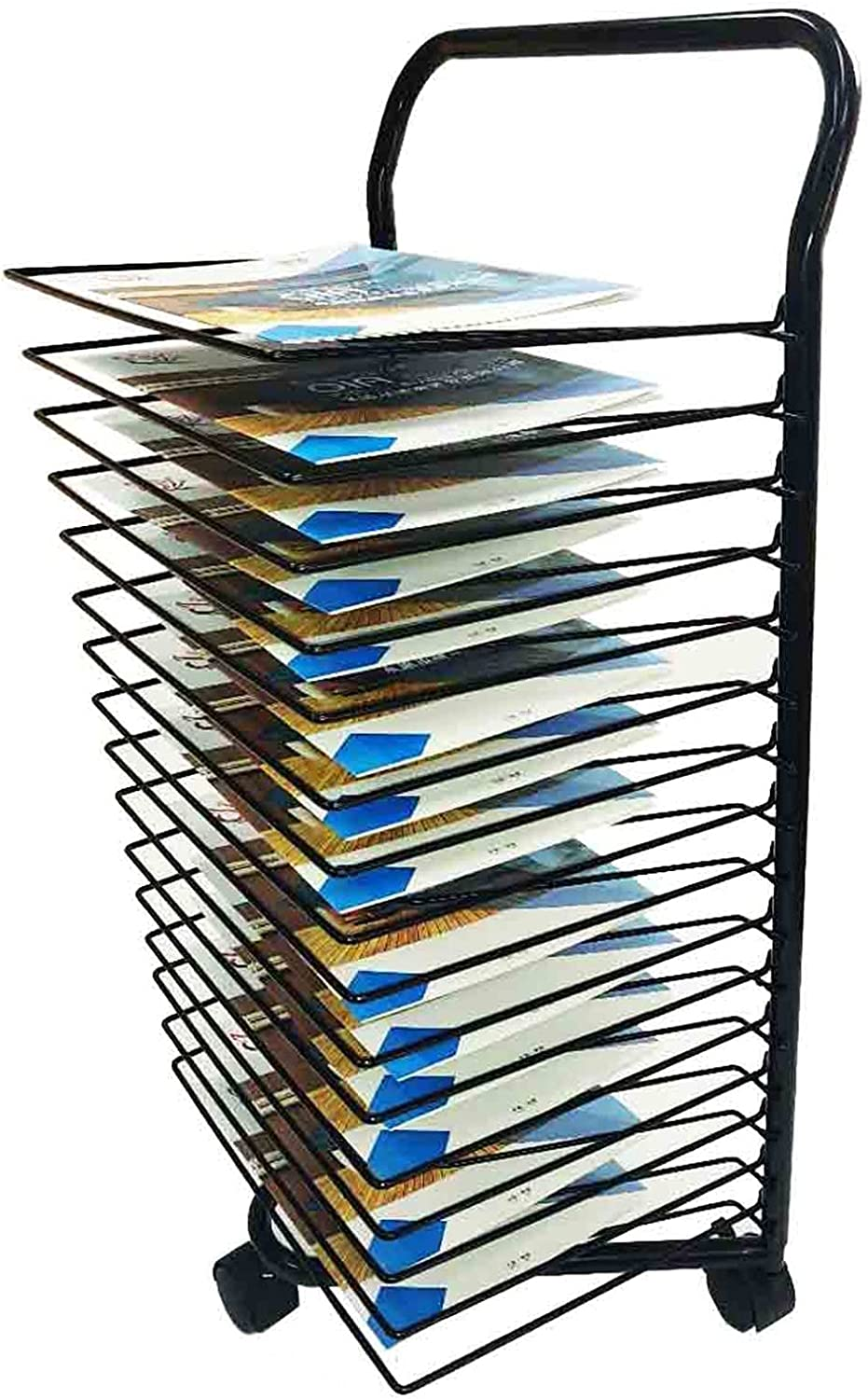 Import YSCMX Drying Rack 2021 autumn and winter new 15-Shelf D Mobile with Classrooms