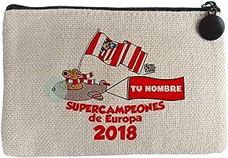 Diver Bebé Monedero Atlético de Madrid supercampeones Tallin 2018 Supercopa de Europa personalizable con nombre