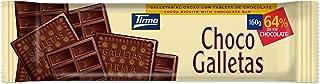 Tirma Chocogalletas Negro, Chocolate, 160 Gramos