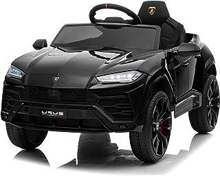 Kidzone 12V 7AH Licensed Lamborghini Urus Kids Ride On Car Electric Vehicle High/Low Speed W/ Remote Control, Horn, Radio,...