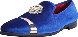 Men's Luxury Wedding Party Dance Prom Loafers Velvet Shoes 11 Color