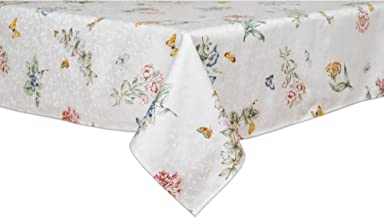 Lenox Butterfly Meadow 60-inch by 84-inch Oblong / Rectangle Tablecloth