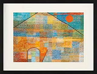 Paul Klee Framed Collector Poster - Ad Parnassum, 1932 (31 x 24 inches)