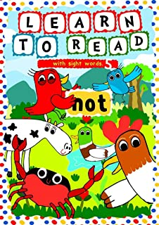 Learn to Read with Sight Words: (NOT) – A learning to read activity book for beginners and kindergartners aged 3 to 5: A t...