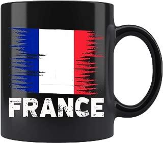 France French Flag Mug Coffee Mug 11oz Gift Tea Cups 11oz