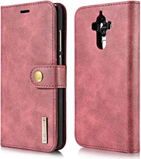 Vintage Genuine Leather Flip Case Magnet Buckle Protection Anti Fall Shell Full Cover For Huawei Mate 9