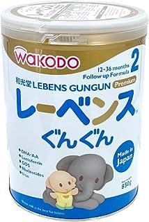 Wakodo Lebens, Toddler Milk Formula, 1-3 years, 850g