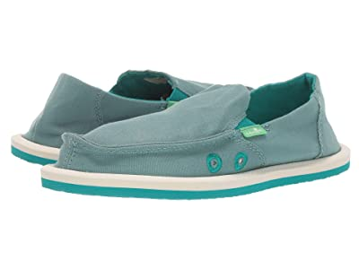 Sanuk Kids Lil Donna (Little Kid/Big Kid) (Mineral Blue) Girls Shoes