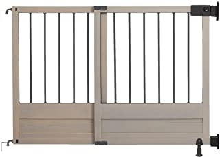 homesafe rustic top of stairs gate
