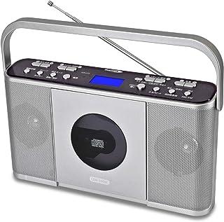 Bearmax CDラジオ(シルバー)Bearmax マナヴィ CDR-550SC