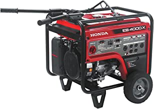 Honda Electric Start 4,000w 120/240v Full Gfci Protected Commercial Gx Engine Generator
