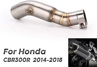 AnXin Collettore di Collegamento per Tubo di Scarico per Yamaha FZ07 MT07 14-17
