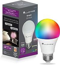 Foco Inteligente WiFi, Multicolor + Luz Blanca Fría y Cálida (RGB + Rango de Luz Blanca 2700K a 6500K, 800 Lumens en Luces...
