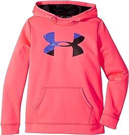 Under Armour Kids - Armour Fleece Big Logo Hoodie (Big Kids)