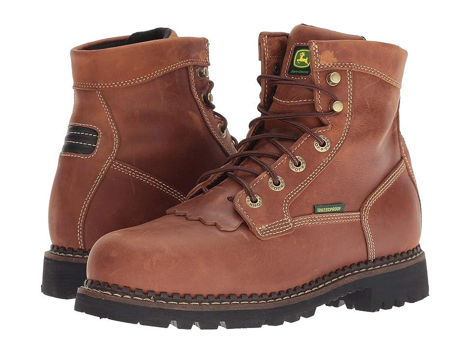 John Deere 6 Waterproof Logger Steel Toe (Chestnut) Men